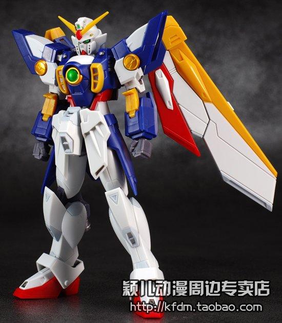 Bandai万代正版玩具ROBOT魂模型高达W飞翼零式敢达战损敢达成品