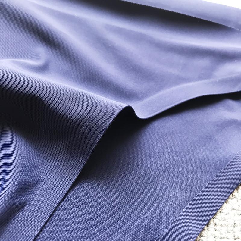 3条装男士内裤半透明超薄冰丝三角裤一片式无痕透气速干