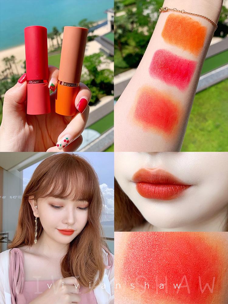薇安萧 韩国espoir艾丝珀19年限量版口红orange橘色胡萝卜色OR407优惠券