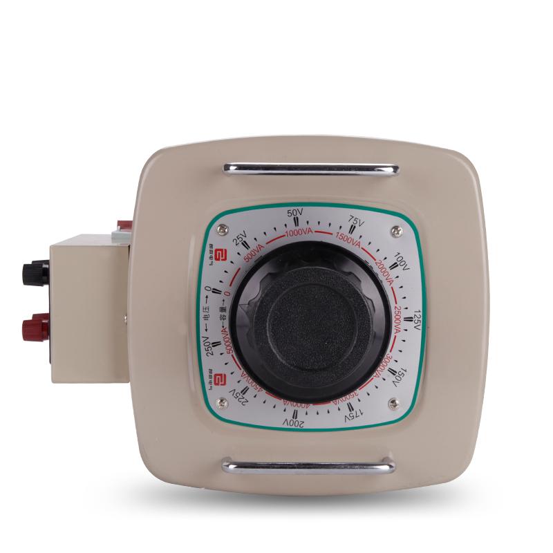 交流调压器220V单相数显TDGC2-5KW接触式自耦0-300V可调电源5000W