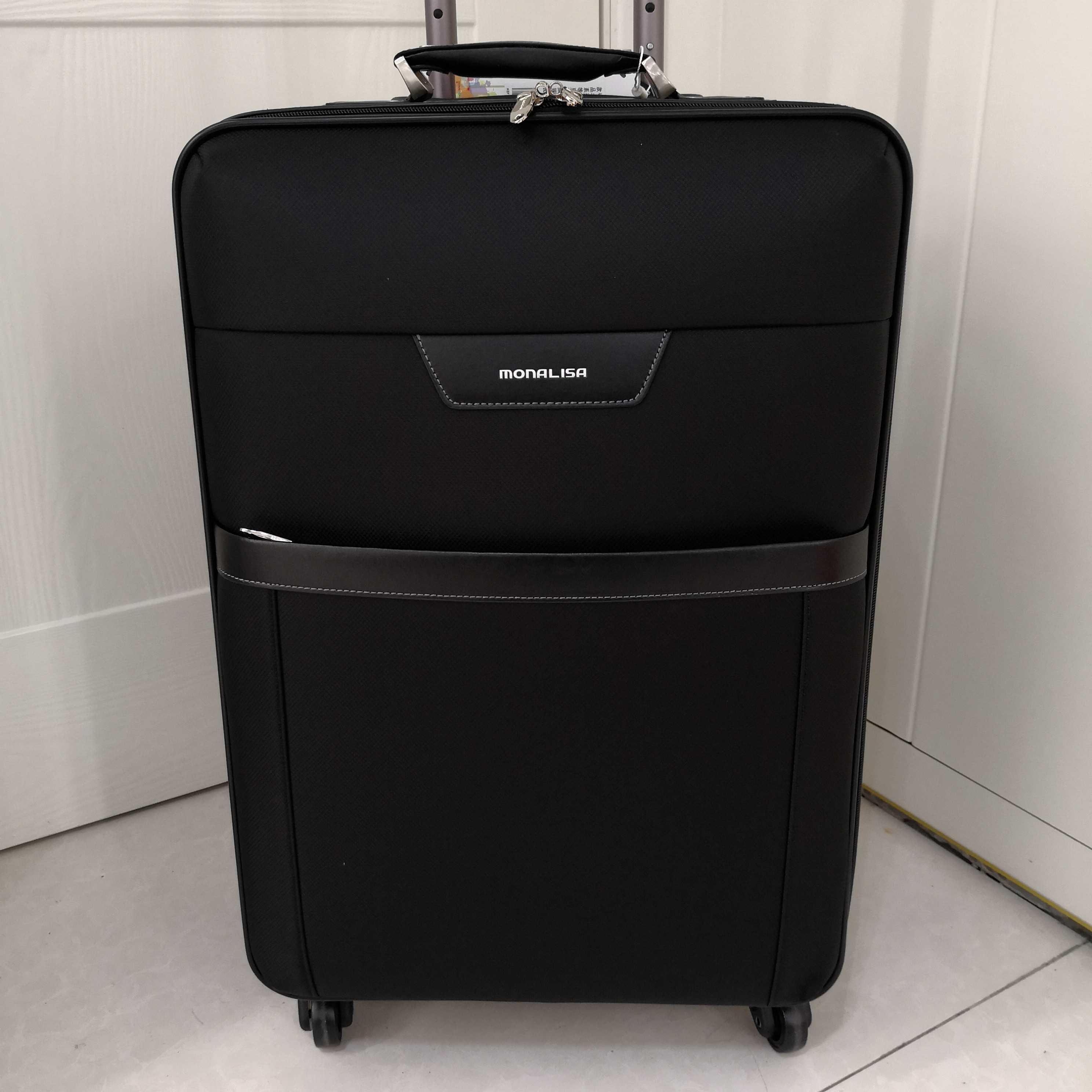 蒙娜丽莎行李箱男女超轻拉杆学生拉杆箱大容量旅行箱登机密码箱