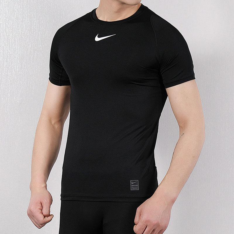 Nike耐克男短袖PRO運動緊身衣籃球足球訓練半袖速幹T恤健身壓縮衣