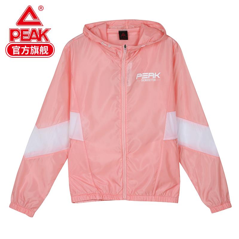 匹克外套2020春季薄款时尚潮流运动外套宽松运动风衣舒适休闲服女