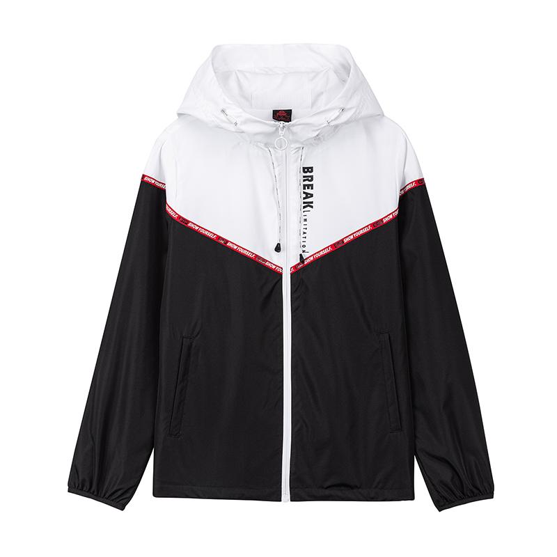 R 2020  匹克运动风衣女 新款宽松休闲梭织风衣学生舒适运动外套休闲