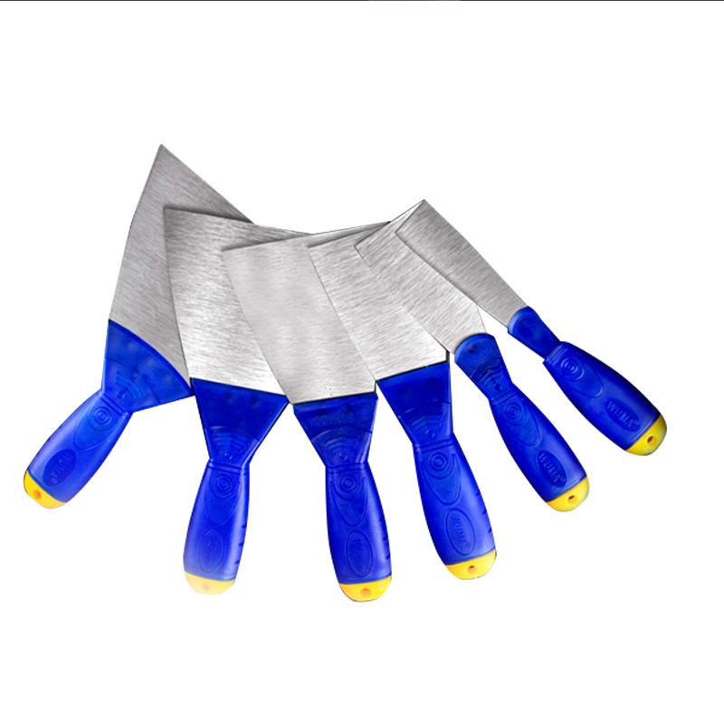 防滑油灰刀加厚刮刀铲刀抹泥刀腻子刀清洁刀塑料柄油漆工小刮泥板