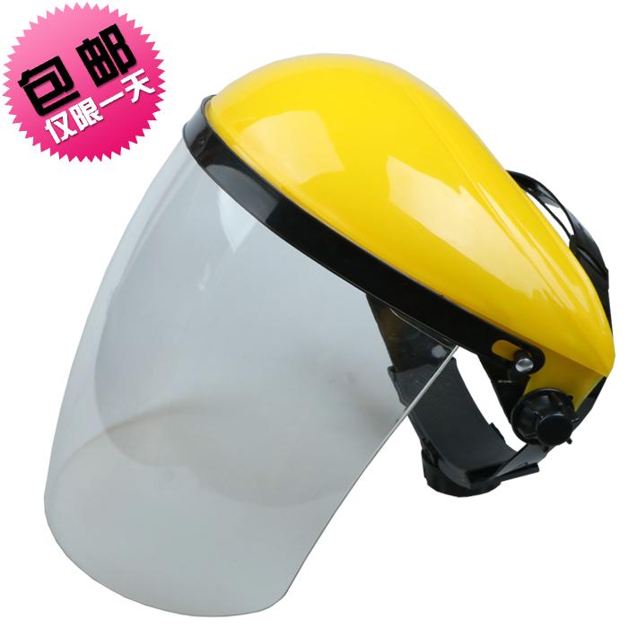 烧焊 焊工焊接焊帽氩弧焊面屏面俱眼镜气保焊 头戴式电焊面罩防护