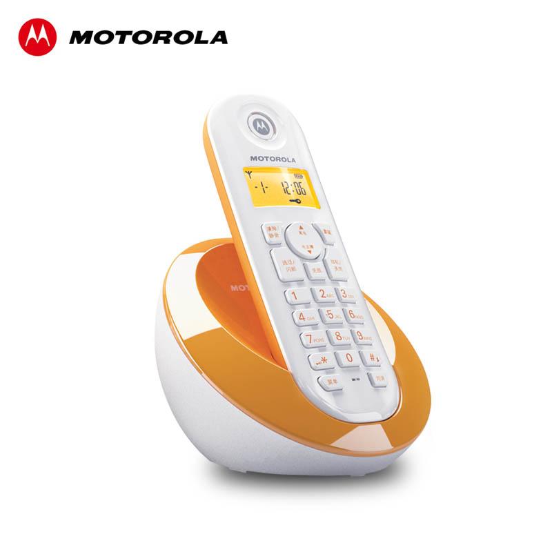 摩托羅拉C601數字無繩電話機座機單機子母機來顯辦公家用
