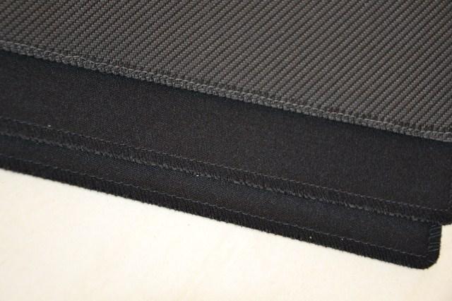 猛虎 网吧鼠标垫 游戏鼠标垫 锁边 压边 纯色简约 布面纯黑鼠标垫