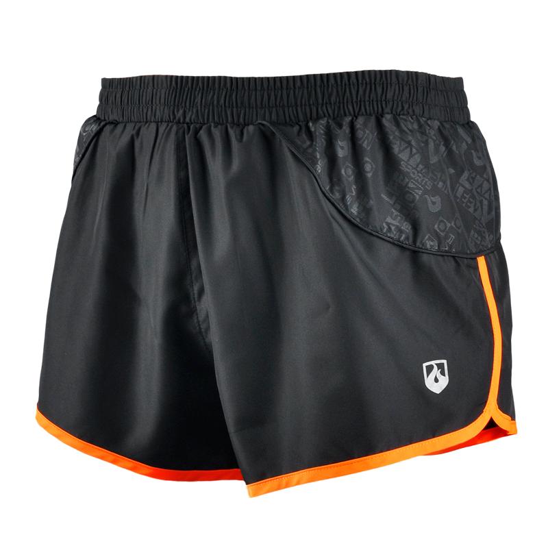 力为 运动短裤男跑步速干夏季马拉松短裤 三分健身透气田径训练裤