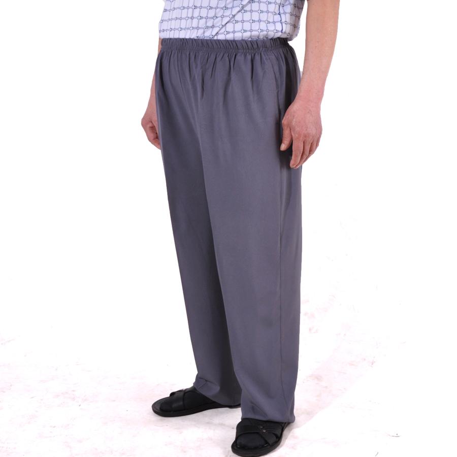 天天特价老人裤子男休闲裤中老年运动裤宽松薄爸爸裤子松紧腰夏天