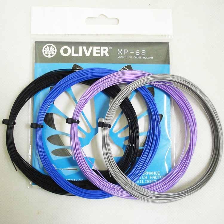 奧立弗OLIVER臺灣原裝高彈耐打羽球拍線XP68