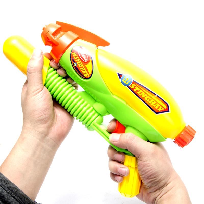 斯高cikoo 兒童戶外沙灘洗澡戲水玩具 超遠射程高壓水槍玩具