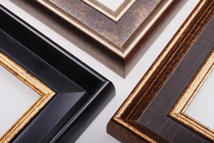 復古美式畫框 懷舊 相框 定做 定製 拼圖框鏡框 油畫框裝飾線條