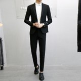 Spring and Autumn Suits, Men's Trendy, Casual, Handsome, Korean Slim, Young Formal Dress, Best Man, Wedding, Handsome, Small Suit, Male
