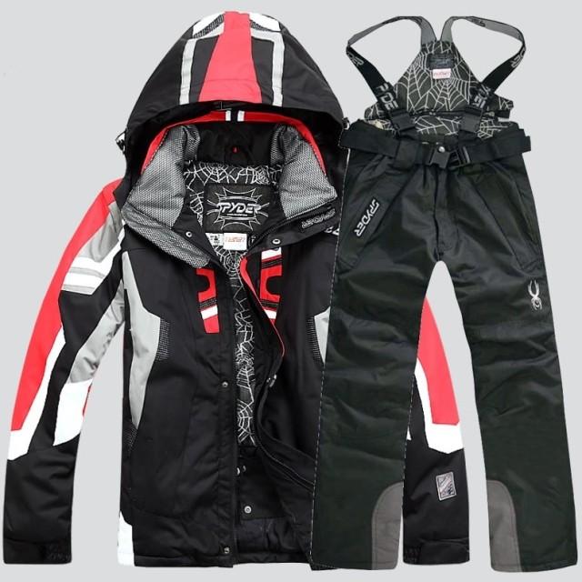 2018特價 男款滑雪服套裝 外套棉 防風防水透氣單雙板超保暖衣服