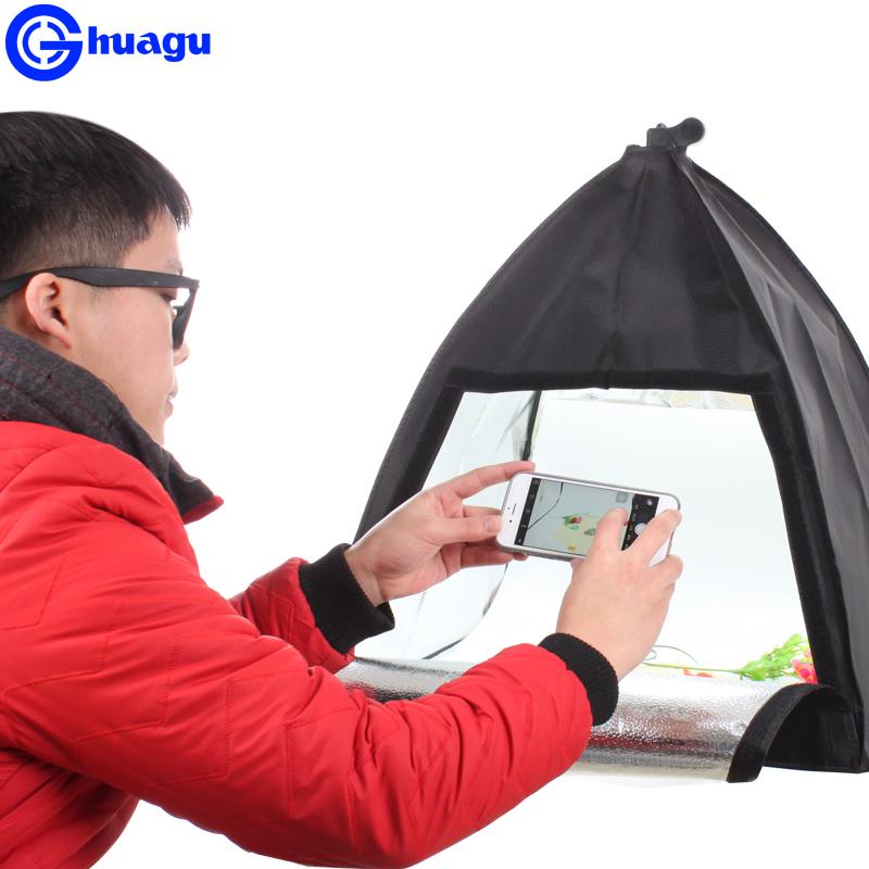 淘寶小型LED攝影棚便攜攝影箱套裝珠寶首飾品拍照箱迷你拍攝燈箱