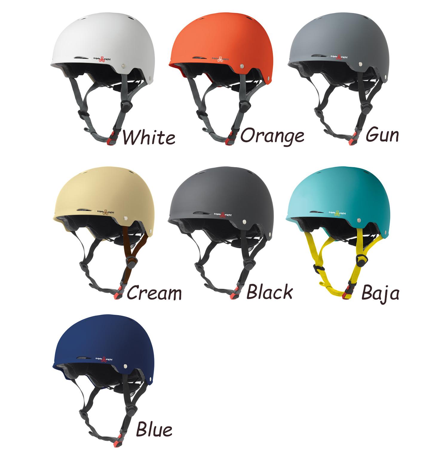 美國進口TRIPLE8頭盔 Gotham系列 長板專用半盔 惠眾滑板店