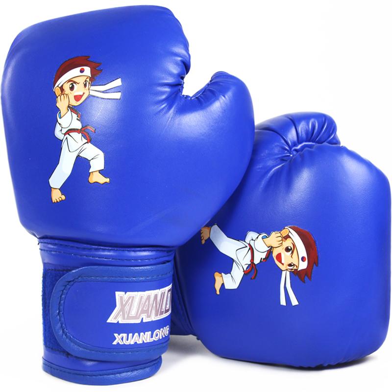 3-13少儿童拳击手套跆拳道幼儿男孩小孩套装搏击沙袋女孩散打拳套