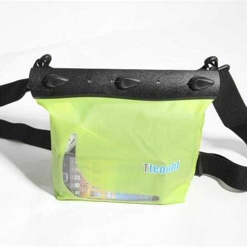 新款 特比樂 手機錢包立體防水腰包挎包雜物防水袋游泳漂流
