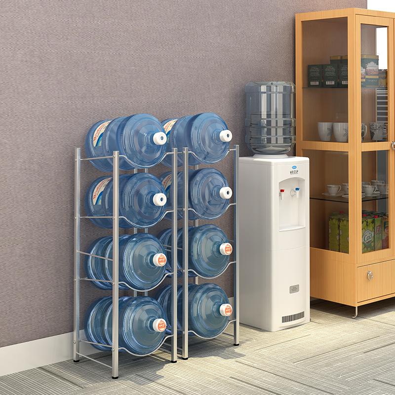 倒置矿泉水收纳架 水桶架置物架落地放桶装水支架饮水水桶放置架