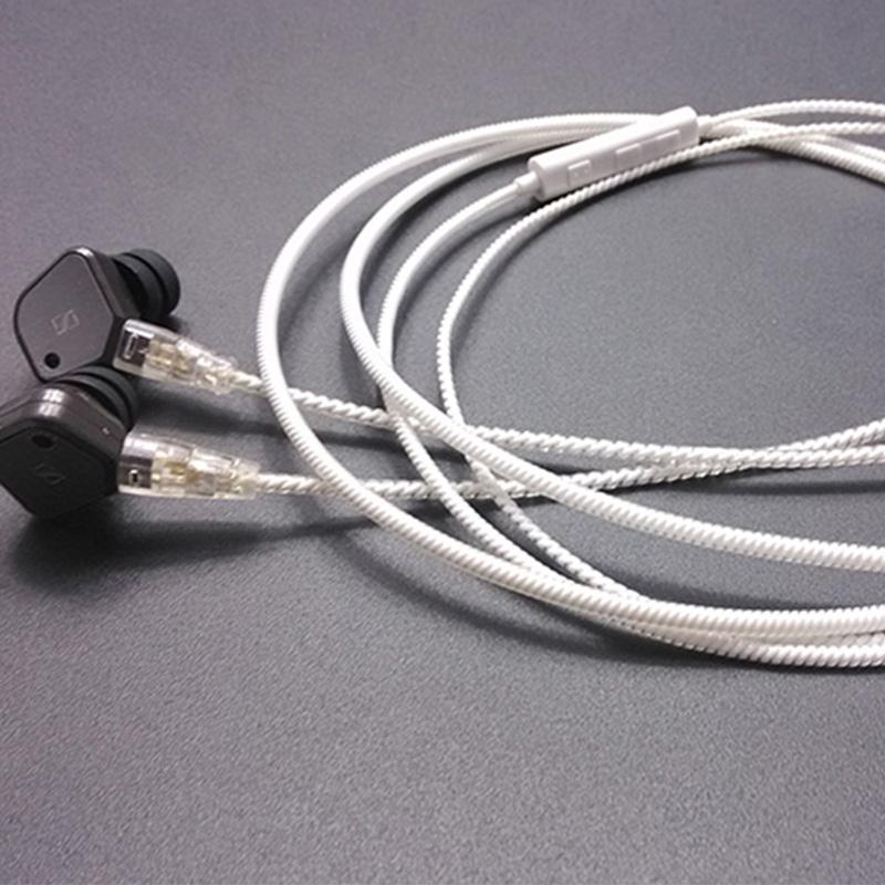 森海ie8 ie80 耳機發燒升級線 海洋之心女神線 舒爾插針帶麥線控
