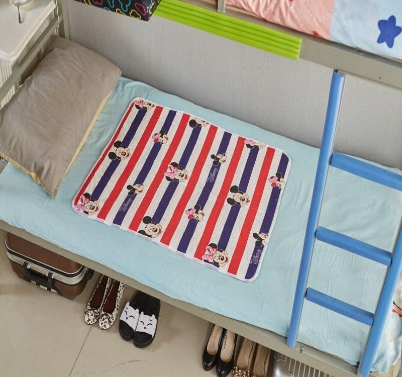 月经垫生理期纯棉防水可洗大姨妈垫子女生成人宿舍透气防漏经期垫