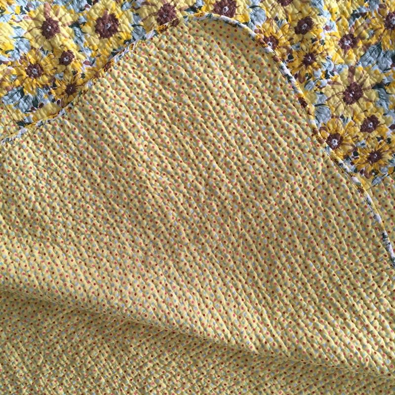包邮全棉绗缝被双人床盖三件套两件套夹棉床单床罩床上用品空调被