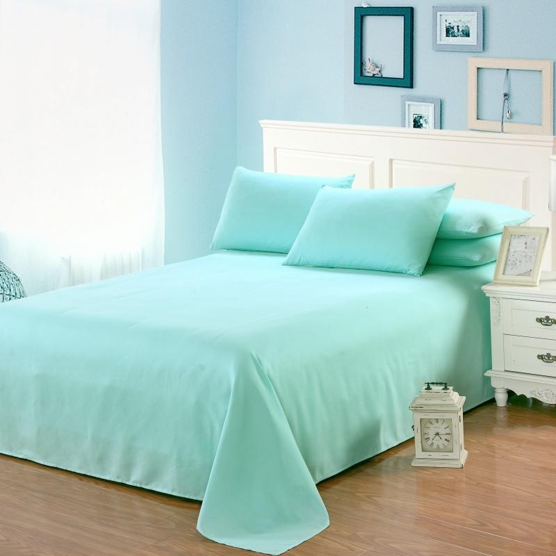 床單單件雙人學生宿舍床單1.8米純色床單被單單人床1.5/1.6/2.3米