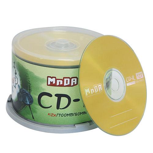 铭大金碟 原装正品 CD-R 52X 空白光盘 cd光盘 刻录盘车载 50片装