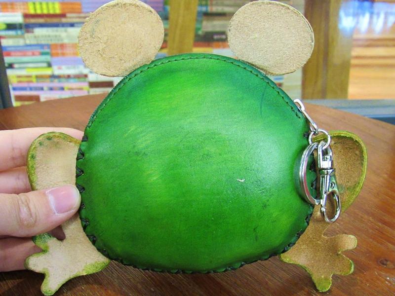【苗大人】真皮青蛙零钱包蚊香蛙零钱包零钱包休闲可爱挂件