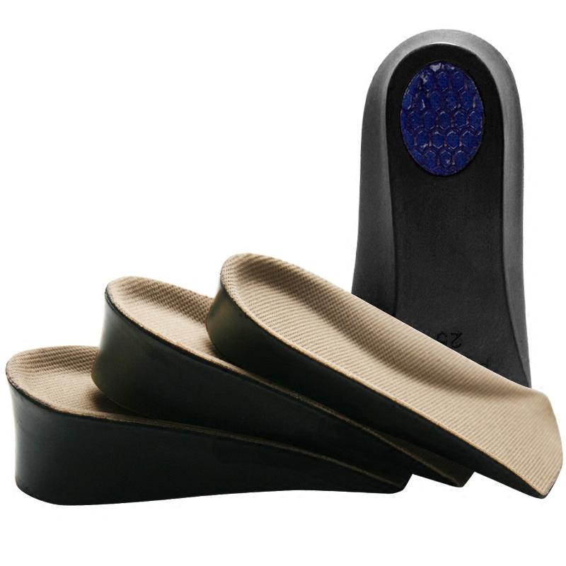 内增高鞋垫女薛之谦同款休闲鞋运动鞋用不变形隐形七分垫男后跟垫