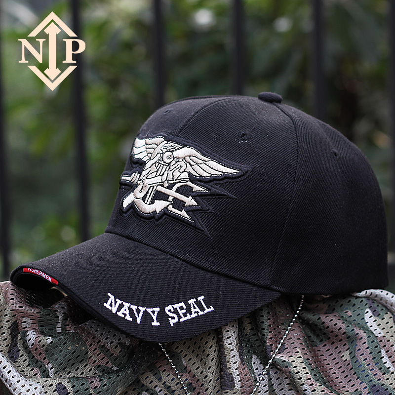 NIP軍迷戶外男帽子特種兵太陽帽棒球帽 美國海豹突擊隊戰術鴨舌帽