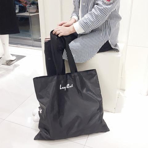 【懶貓獨家】大號可摺疊購物袋 超結實尼龍環保袋 手提袋 買菜包
