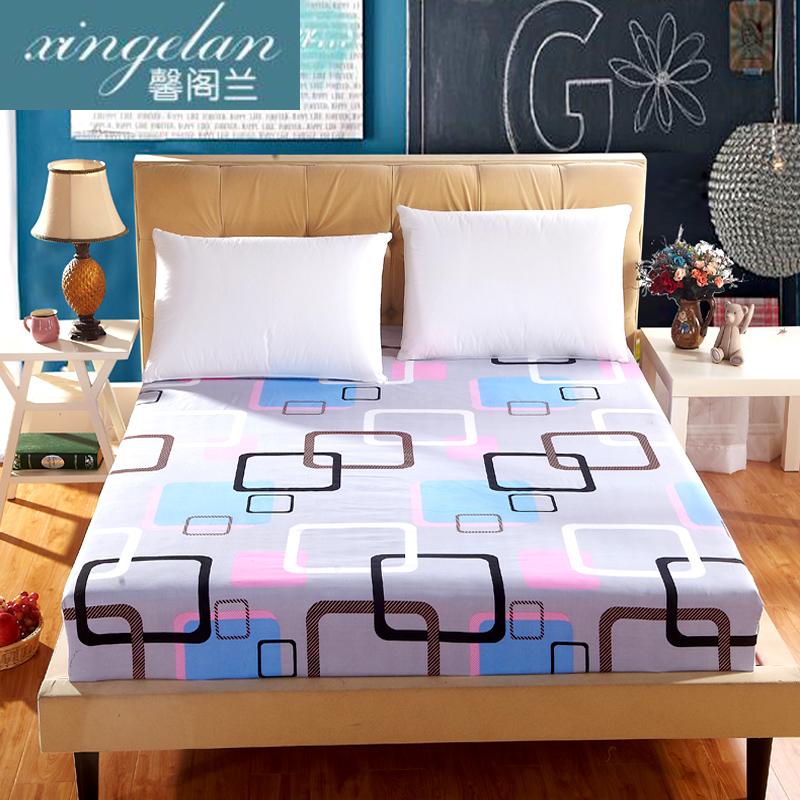 床笠磨毛席夢思床罩保護套防塵罩床墊罩單件床套雙人單人防滑床單