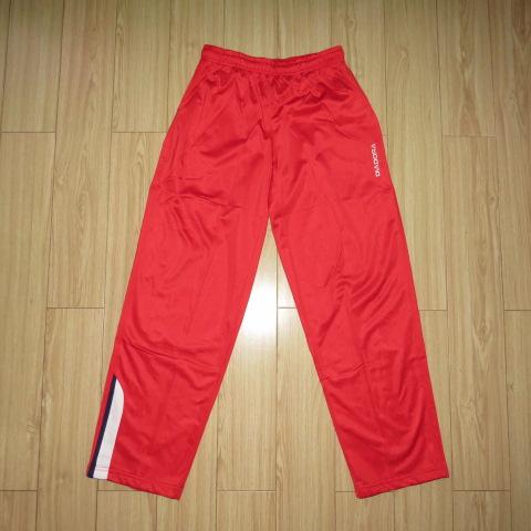 包郵:義大利DIA*男子足球運動褲 復古 訓練 長褲 金光絨 內薄絨