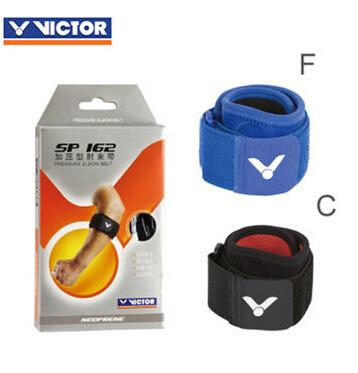 專櫃正品 勝利VICTOR 羽毛球護具SP162護肘 肘部加壓帶 防止損傷