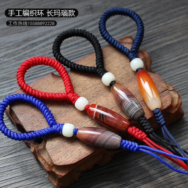 金刚结手工编织汽车钥匙扣男士女款钥匙链腰挂件圈创意礼品
