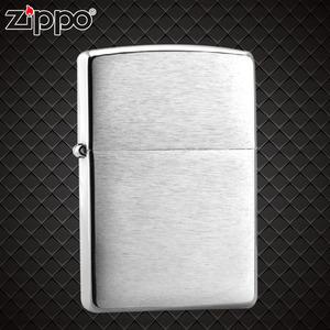 专柜 ZIPPO打火机正品 200磨砂超薄 经典铬拉丝沙子 限量正版
