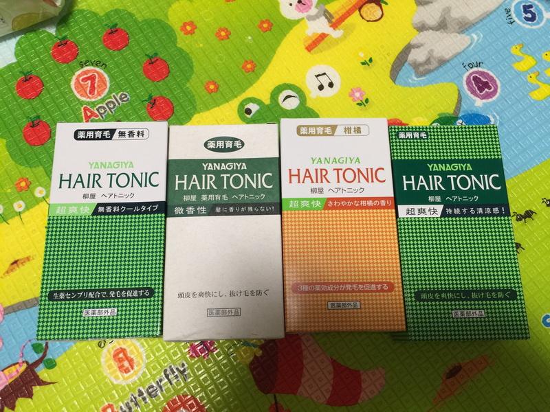 日本YANAGIYA柳屋柑橘無香髮根營養液生髮養髮防脫髮包郵240ml