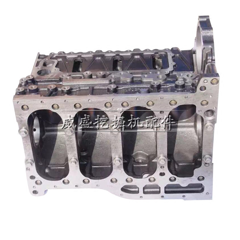 五十铃4HK1 6HK1发动机缸体 缸盖 四配套 日立 住友发动机配件