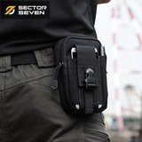 Area 7/Ladybug Multifunctional Tactical Belt Bag Outdoor EDC Accessories Wallet 5.5 inch Large Screen Mobile Coin Purse