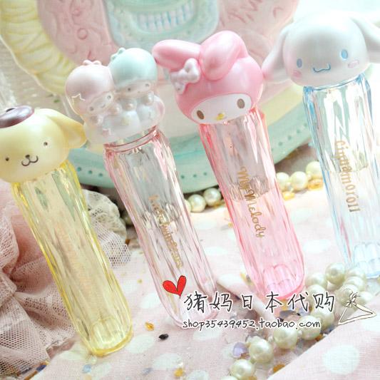 日本 雙子星 KITTY MELODY 小白 小黃 可愛3D造型 棉棒 棉籤 帶鏡