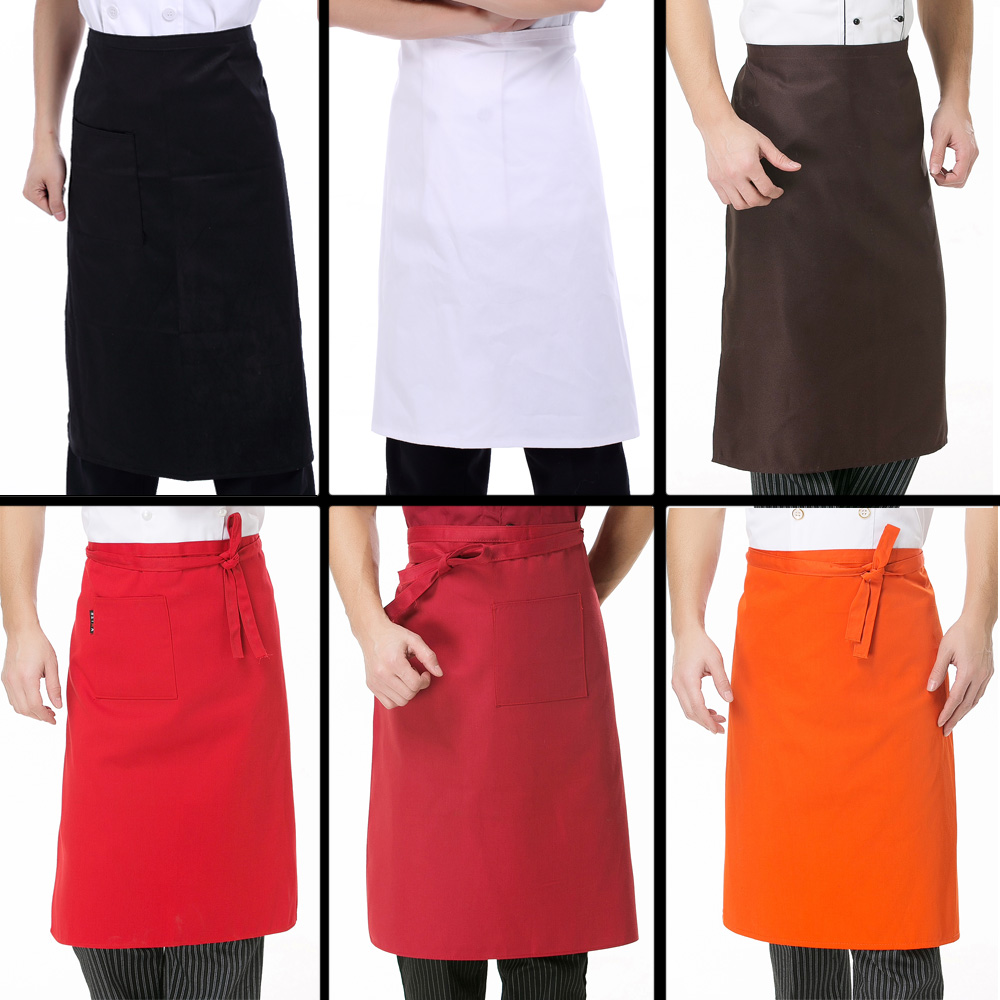 White aprons for sale -  Multicolor Optional Hotel Restaurant Kitchen Chef Aprons Bust Black And White Men And Women Through With