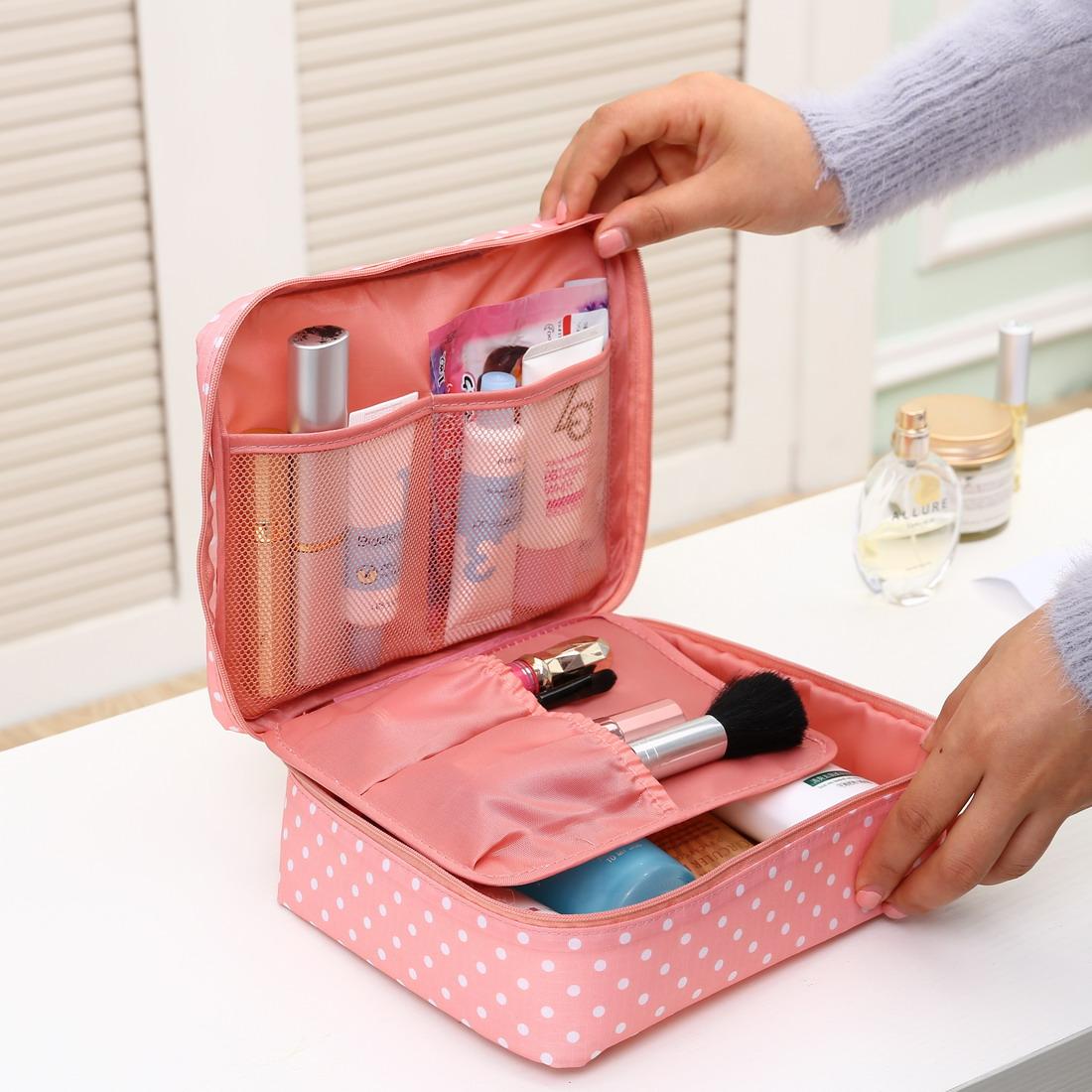 便攜收納包多功能化妝包收納整理袋簡約大容量防水旅行隨身洗漱包