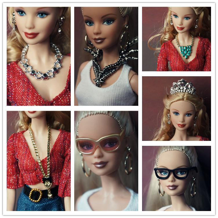(超多款)娃娃服裝/衣服/禮服 娃娃配件 首飾眼鏡 娃娃配飾二波