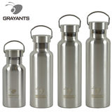 Grayants304 stainless steel large mouth vacuum insulation cold storage sports bottle outdoor water bottle water bottle large capacity