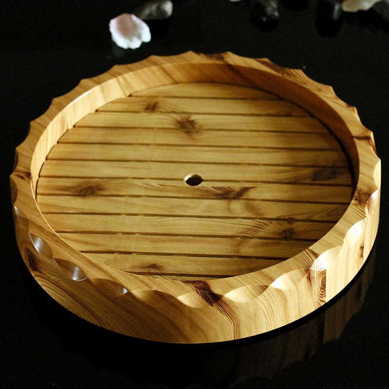 太田家仿木紋圓盤壽司盆料理盤碟密胺盤子刺身盤冰盤日式餐具