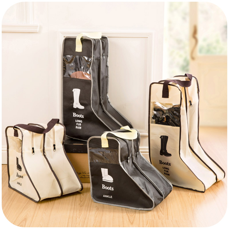 旅行長靴短靴雪地鞋子收納整理袋鞋套透明防潮防水防塵袋鞋袋鞋包