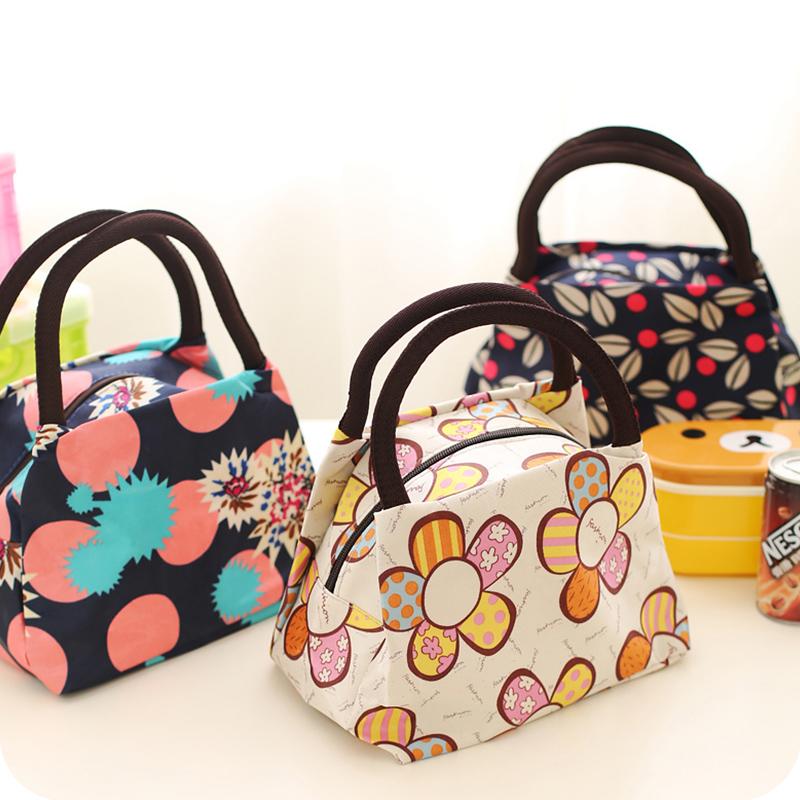 包邮防水布艺包手提包女士小包便当包手拎饭盒袋牛津布妈咪女包