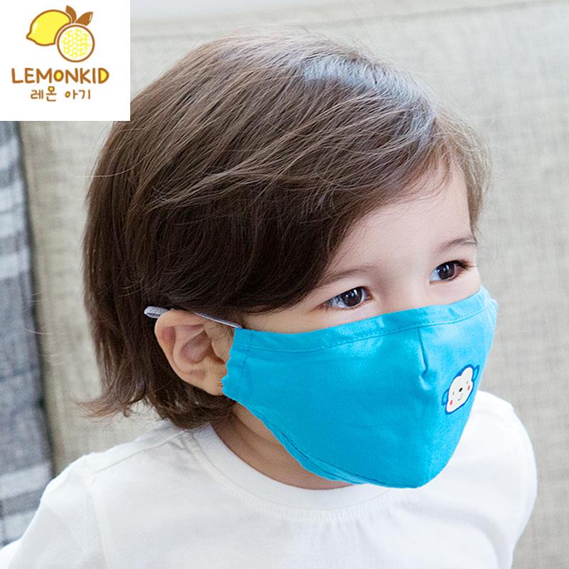 韩版儿童口罩棉防雾霾防PM2.5宝宝口罩男童女童透气幼儿秋冬款